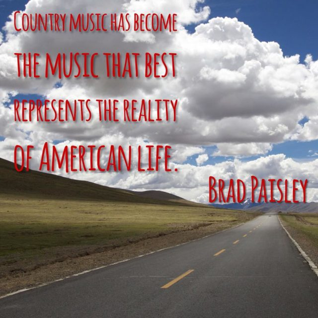 Country music has become the music that best represents the ...